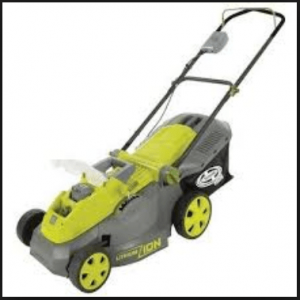 Sun Joe iON16LM Cordless Lawn Mower, 16-inch, 40v, Brushless Motor