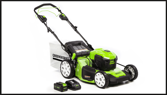 GreenWorks M-210-SP, 21-inch, 40v, Brushless, Self-propelled Mower